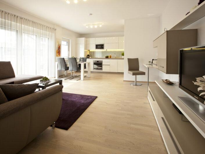 Repräsentatives Appartement in Graz - Wohnraum