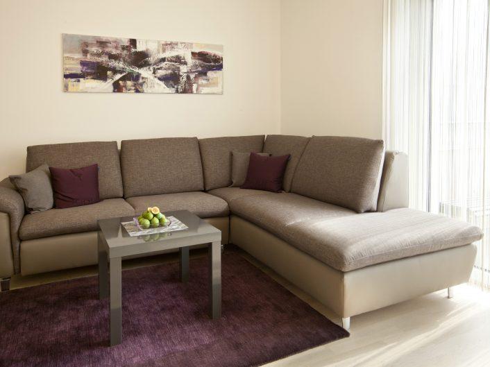 Appartement Business in Graz: Schlafsofa