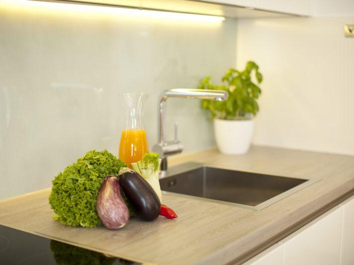 Appartement Business in Graz: Küche