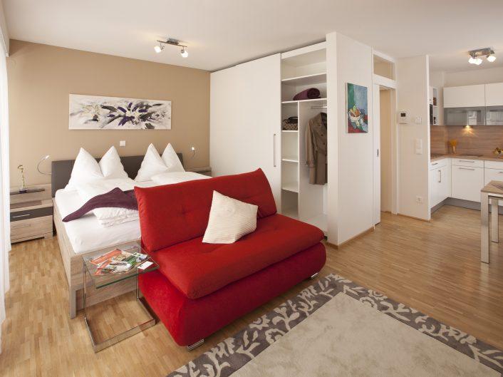 Appartement in Graz - Wohnraum