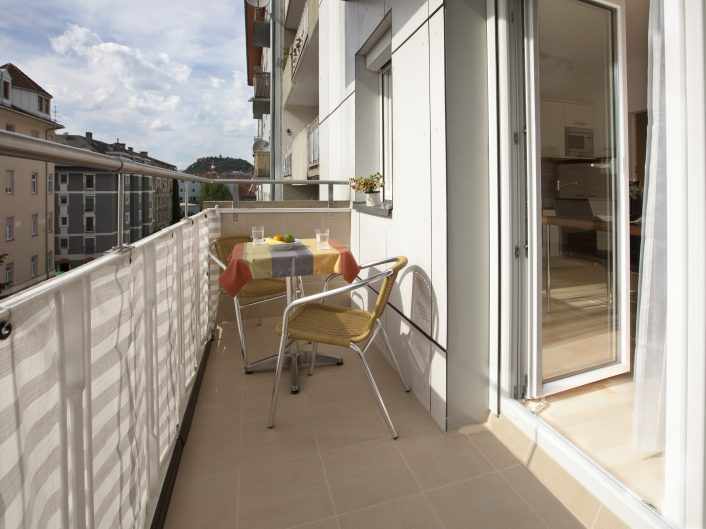 Appartment DELUXE - Balkon