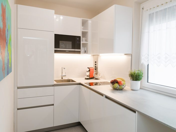 Appartement Mare: Küche