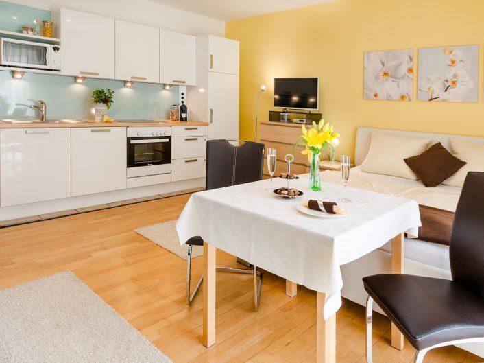 Appartement Nova: Küche